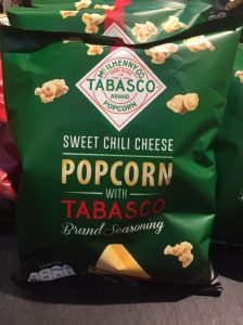 Pop corn Tabasco