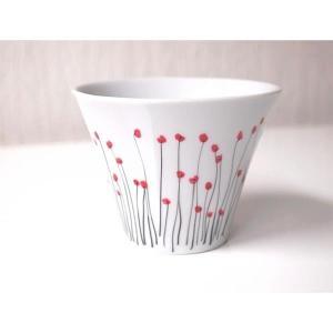 Tasse gobelet pavot