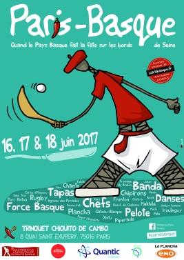 affiche Paris-Basque